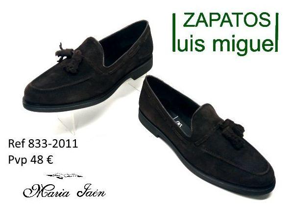 mocasin con borlas Maria Jaen (ref 833-2011): Catalogo de productos de Zapatos Luis Miguel