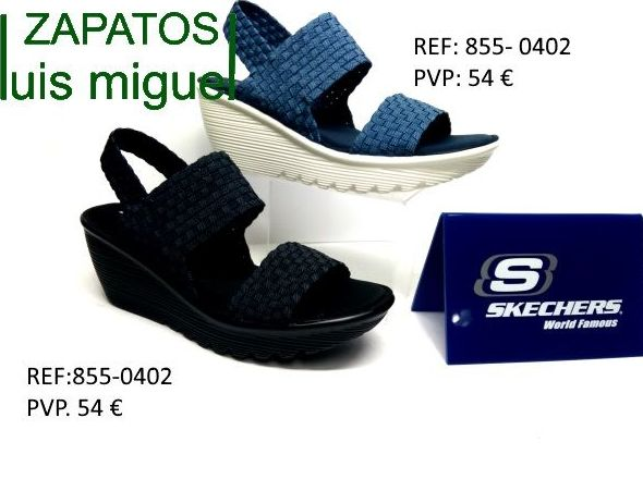 sandalias sckechers dos tiras: Catalogo de productos de Zapatos Luis Miguel