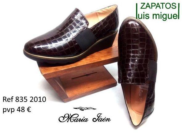 Mocasin con elasticos imitacion cocodrilo Maria Jaen (ref 835 2010): Catalogo de productos de Zapatos Luis Miguel