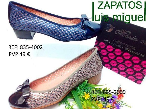 salon con puntera y lacito: Catalogo de productos de Zapatos Luis Miguel