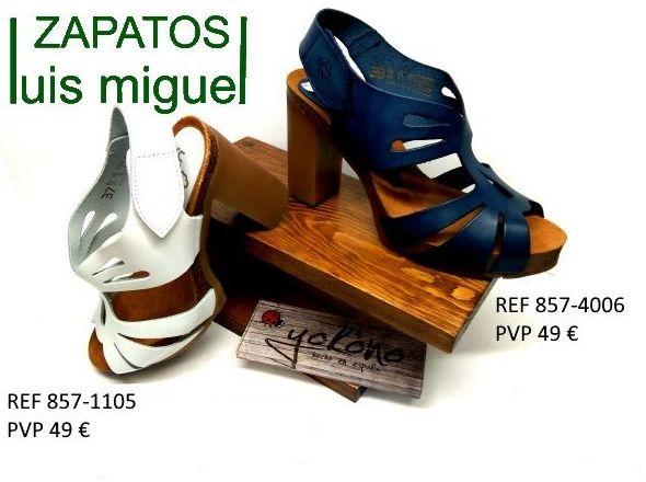 sandalias de yokono tacon alto muy comodas: Catalogo de productos de Zapatos Luis Miguel