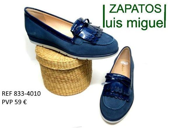 mocasin flecos y lazo de patricia miller: Catalogo de productos de Zapatos Luis Miguel