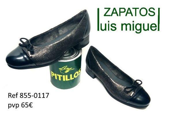 manoletina grabada pitillos ( ref 855 0117): Catalogo de productos de Zapatos Luis Miguel