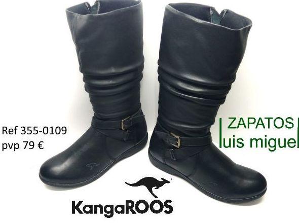 modernas botas kangaroos (ref 355-0109): Catalogo de productos de Zapatos Luis Miguel