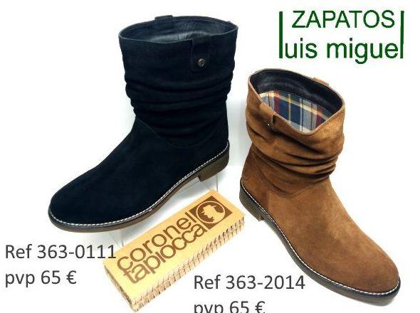 botines de coronel tapioca (ref 363-0111 363-2014): Catalogo de productos de Zapatos Luis Miguel
