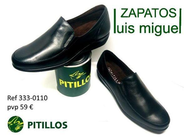 mocasin clasico liso con elasticos Pitillos ( ref 333-0110): Catalogo de productos de Zapatos Luis Miguel