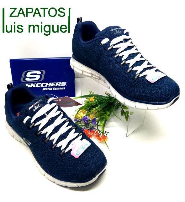 skechers azul marino: Catalogo de productos de Zapatos Luis Miguel