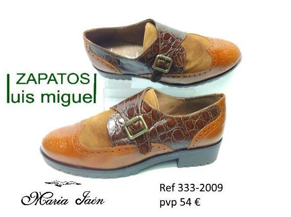 zapato ingles con hebilla Maria Jaen (ref 333-2009): Catalogo de productos de Zapatos Luis Miguel