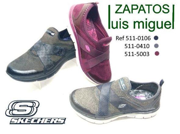deportivas sin cordones Skechers las autenticas : Catalogo de productos de Zapatos Luis Miguel