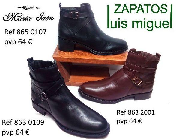 botines planos Maria Jaen: Catalogo de productos de Zapatos Luis Miguel