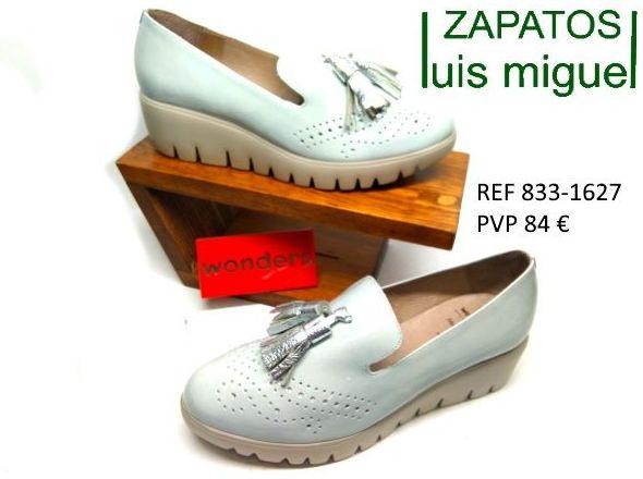 mocasin piso grueso wonder: Catalogo de productos de Zapatos Luis Miguel