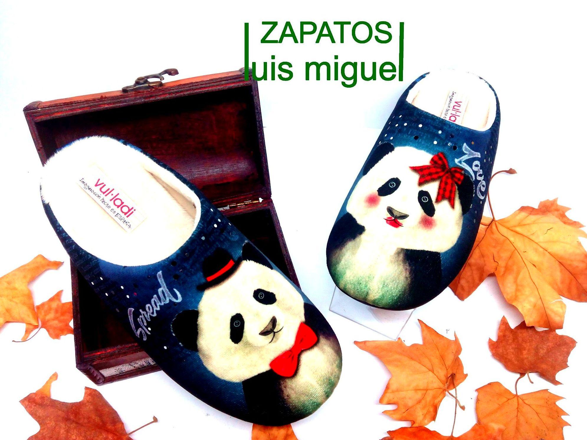 zapatillas de señora pandas: Catalogo de productos de Zapatos Luis Miguel