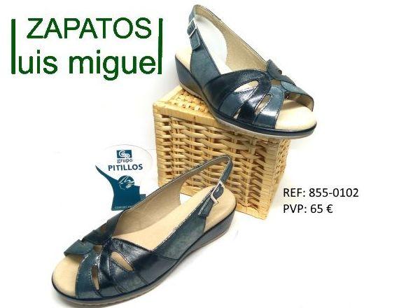 sadalias comodas de pitillos: Catalogo de productos de Zapatos Luis Miguel
