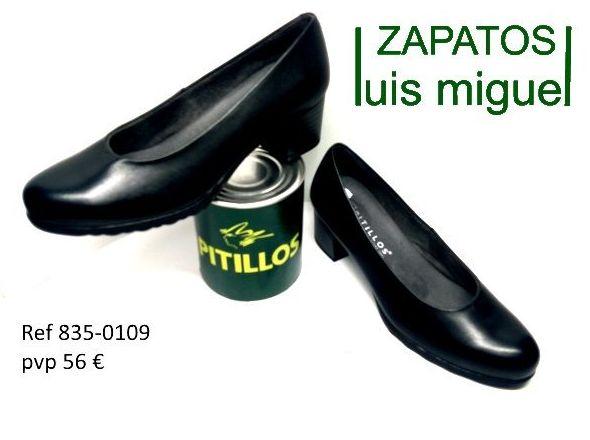 salon piel lisa tacon bajo ( ref 835 0109): Catalogo de productos de Zapatos Luis Miguel