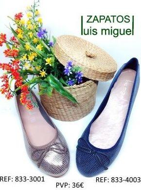 Manoletinas metalicas Maria Jaen: Catalogo de productos de Zapatos Luis Miguel