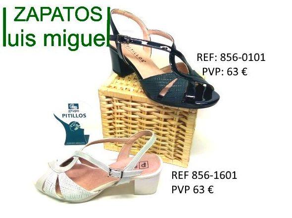 sandalia medio tacon Pitillos: Catalogo de productos de Zapatos Luis Miguel