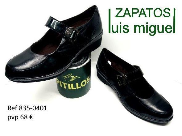 merceditas de Pitillos gris oscuro (  ref 835 0401): Catalogo de productos de Zapatos Luis Miguel