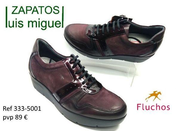 zapatos de cordon Fluchos muy comodos: Catalogo de productos de Zapatos Luis Miguel
