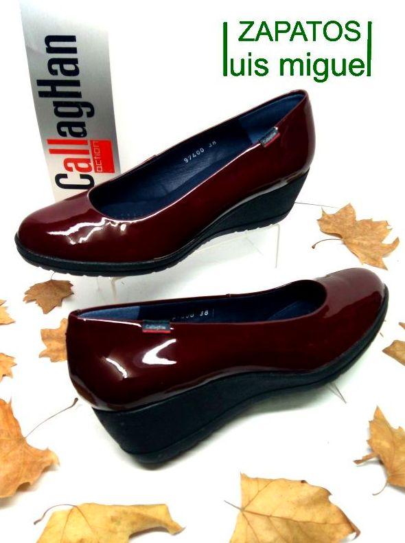 salon con cuña callaghan: Catalogo de productos de Zapatos Luis Miguel