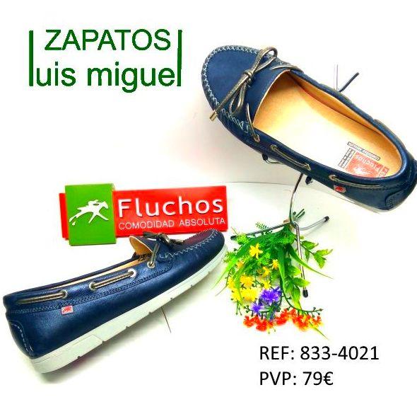 Mocasin de fluchos tipo nautico: Catalogo de productos de Zapatos Luis Miguel