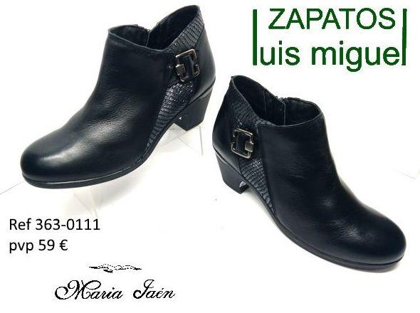 botines de Maria Jaen ( ref 365 0111): Catalogo de productos de Zapatos Luis Miguel