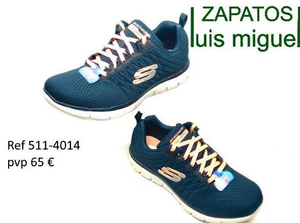 deportivas con cordones Skechers las autenticas : Catalogo de productos de Zapatos Luis Miguel