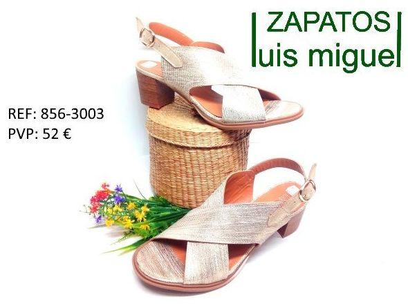 Sandalia cruzado y tacon medio: Catalogo de productos de Zapatos Luis Miguel