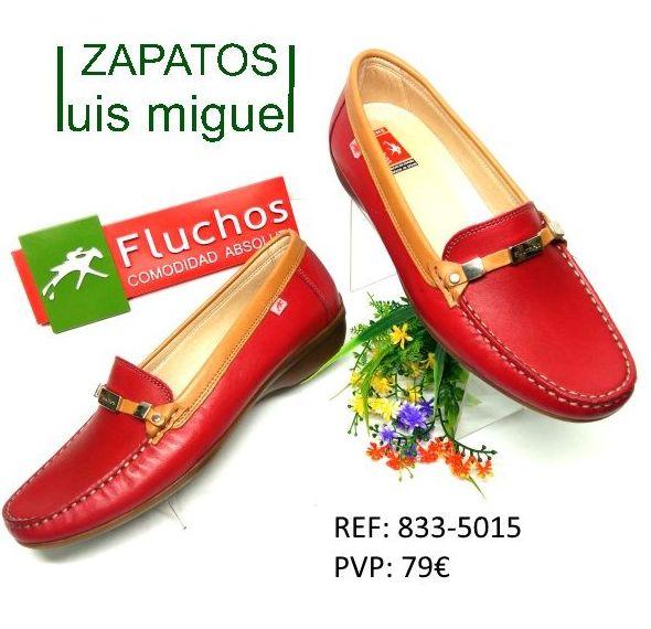 mocasin fluchos con adorno metalico: Catalogo de productos de Zapatos Luis Miguel