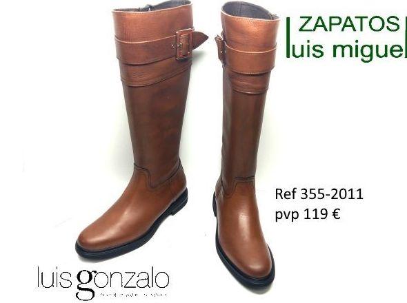 Preciosas botas Luis Gonzalo ( ref 355-2011): Catalogo de productos de Zapatos Luis Miguel