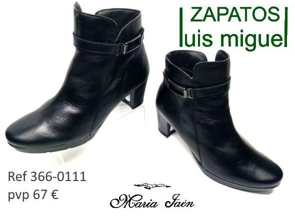 botines de vesstir Maria Jaen ( ref 366-0111): Catalogo de productos de Zapatos Luis Miguel
