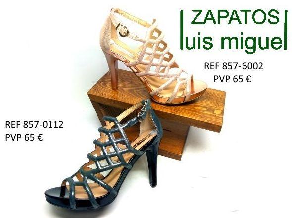 Preciosas sandalias de diseño Patricia Miller: Catalogo de productos de Zapatos Luis Miguel