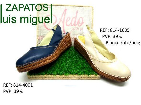 sandalia de esparto puntera cerrada: Catalogo de productos de Zapatos Luis Miguel