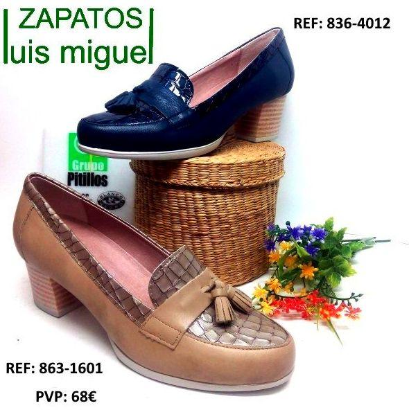 Pitillos mocasin con borlas: Catalogo de productos de Zapatos Luis Miguel