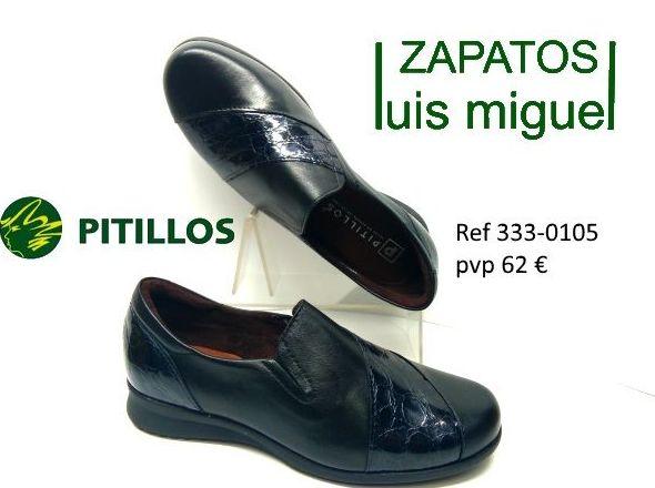 mocasin muy comodos de Pitillos ( ref 3330105): Catalogo de productos de Zapatos Luis Miguel