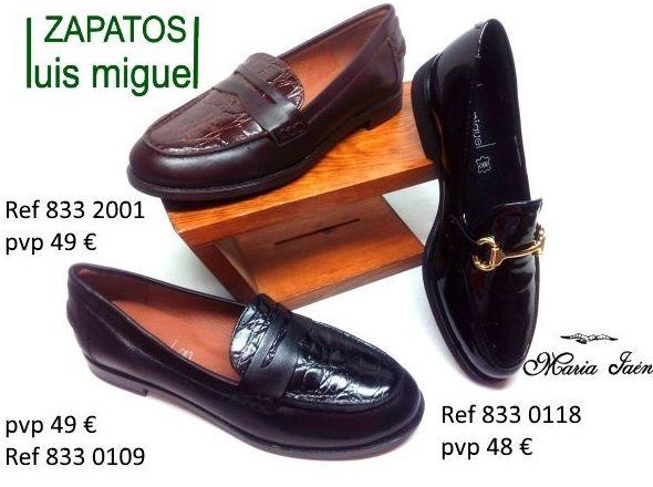 mocasines antifaz o estribo de Maria Jaen: Catalogo de productos de Zapatos Luis Miguel