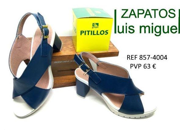 sandalias de pitillos tacon medio cruzadas pitillos: Catalogo de productos de Zapatos Luis Miguel
