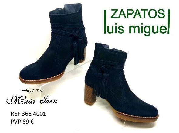 Botines tacon medio Maria Jaen: Catalogo de productos de Zapatos Luis Miguel