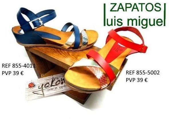 sandalias cruzadas de yokono: Catalogo de productos de Zapatos Luis Miguel