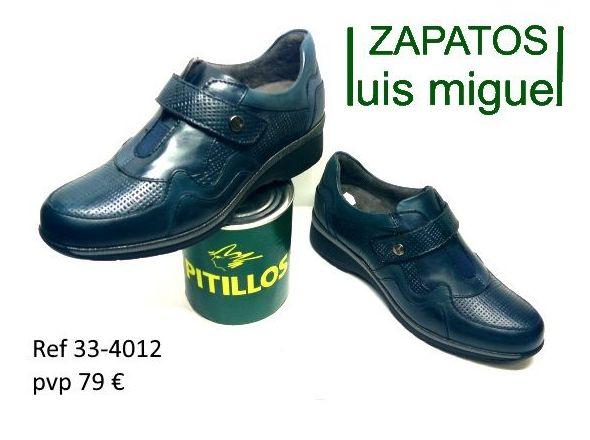 zapatos tipo deportivos pitillos (ref 333-4012): Catalogo de productos de Zapatos Luis Miguel