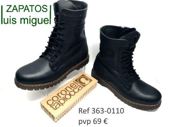 botas tipo militar de Coronel tapioca (ref 363-0110): Catalogo de productos de Zapatos Luis Miguel