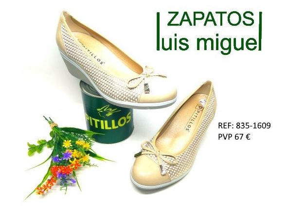 salon de pitillos con cuña: Catalogo de productos de Zapatos Luis Miguel
