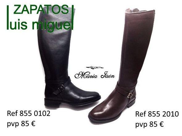 botas tipo de montar Maria Jaen: Catalogo de productos de Zapatos Luis Miguel