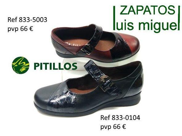zapatos de pitillos tipo mercedes bajitos: Catalogo de productos de Zapatos Luis Miguel