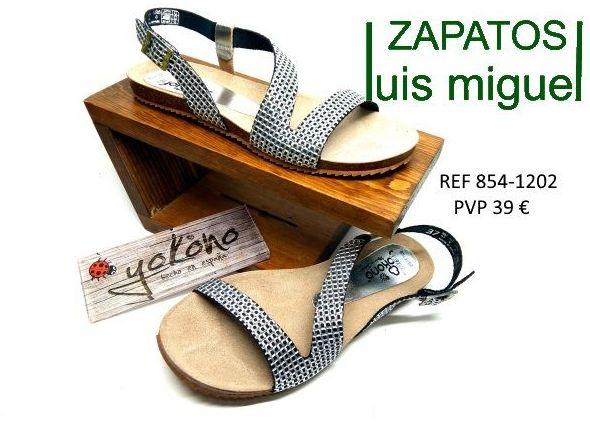 sandalitas muy fresquitas yokono: Catalogo de productos de Zapatos Luis Miguel