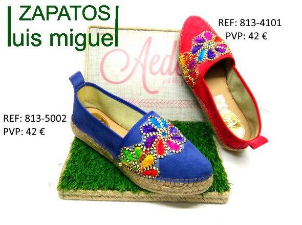 zapatillas nobuk y esparto: Catalogo de productos de Zapatos Luis Miguel