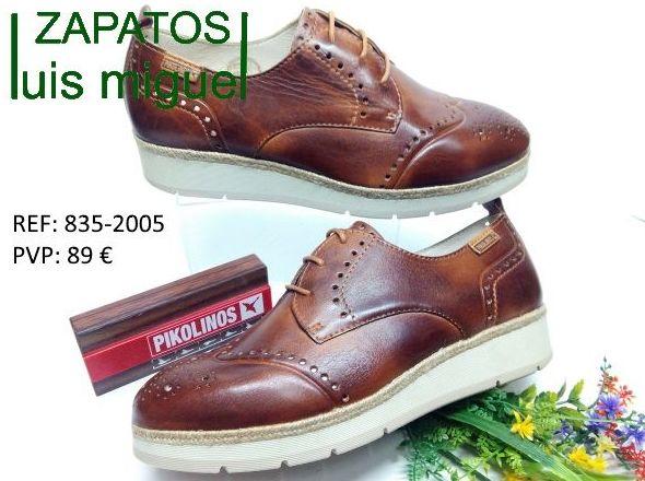 cerrado tipo ingles de pikolinos: Catalogo de productos de Zapatos Luis Miguel