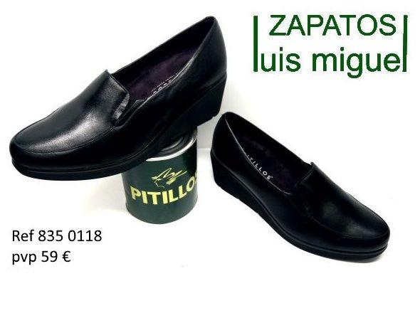 mocasin liso Pitillos (ref 835 0118): Catalogo de productos de Zapatos Luis Miguel