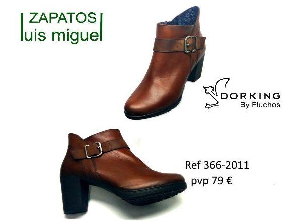 botines de dorking by Fluchos tacon medio: Catalogo de productos de Zapatos Luis Miguel