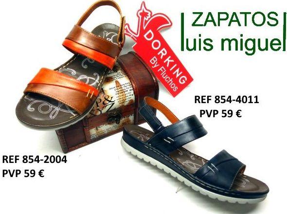 Dorking by Fluchos sandalias dos tiras: Catalogo de productos de Zapatos Luis Miguel