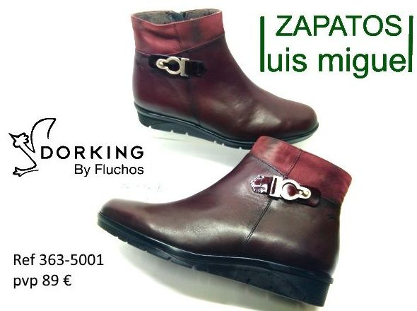 modernos botines de Dorking by Fluchos ( ref 363-5001): Catalogo de productos de Zapatos Luis Miguel